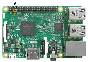 Raspberry Pi 3 Reset Pins