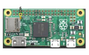 Raspberry Pi Zero Reset Pins
